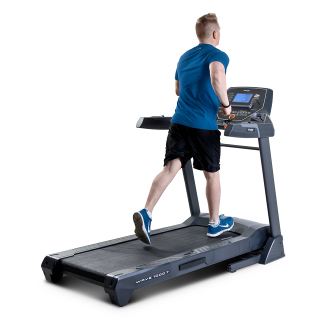 Frequency Fitness Wave 1000T Treadmill - Toronto Canada - Shown being used for running