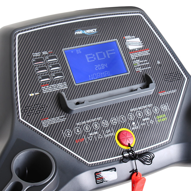 Frequency Fitness Wave 1000T Treadmill body fat indicator program
