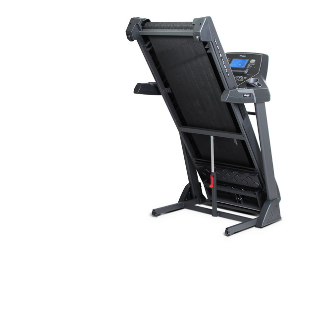 Frequency Fitness Wave 1000T Treadmill - Toronto Canada - Shown folded