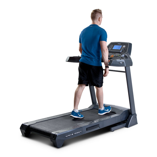 Frequency Fitness Wave 1000T Treadmill - Toronto Canada - Shown being used for walking