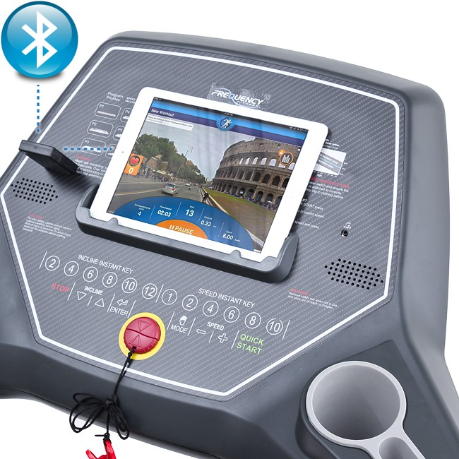 Frequency Fitness Wave 5000T Treadmill - Toronto Canada - Bluetooth Compatability